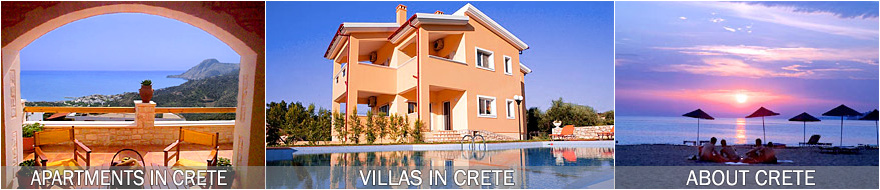Holiday Villas and Apartments in Crete